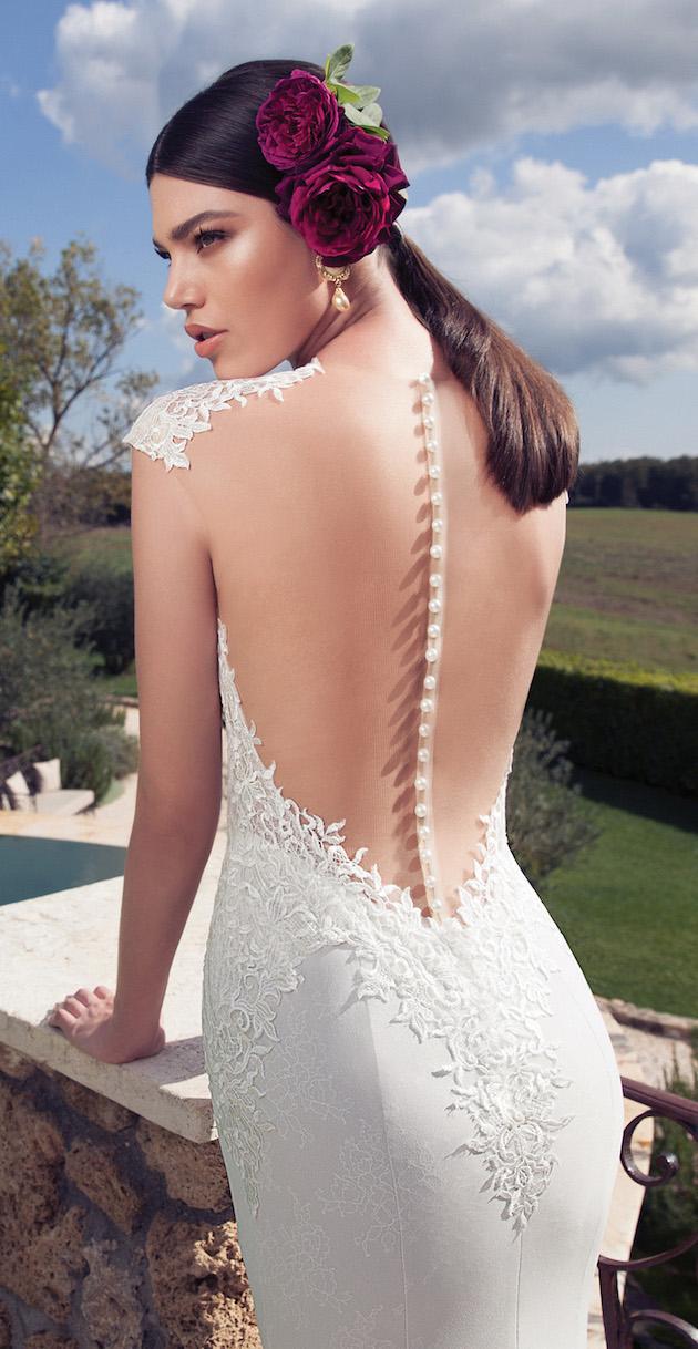10 Go-To Designers For Backless Wedding Dresses - Weddbook