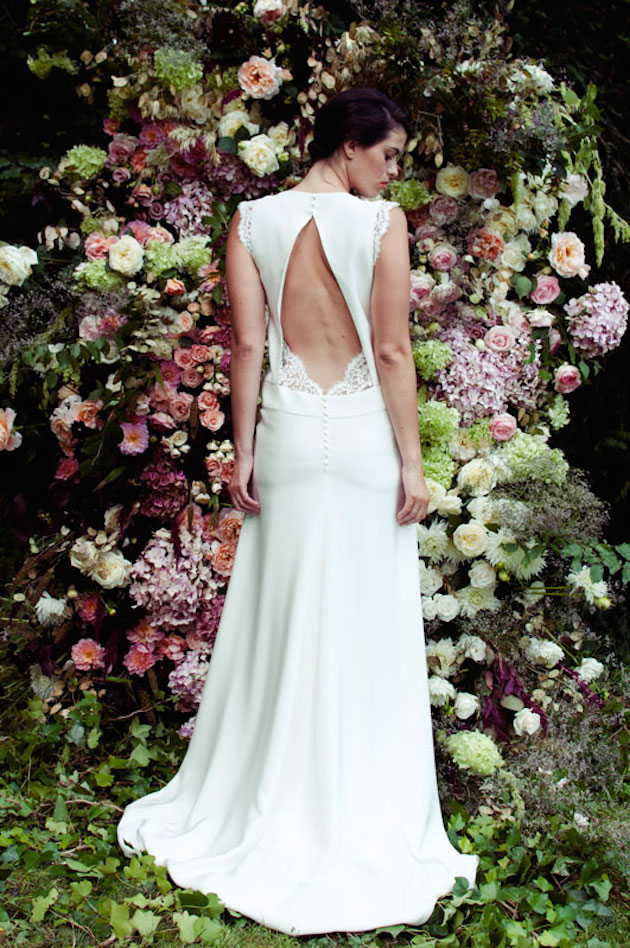 10 go to designers for backless wedding dresses weddbook junglespirit Gallery