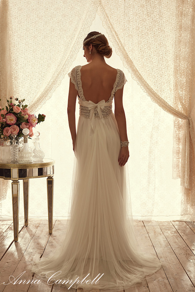 Gallery For Backless Wedding Dresses