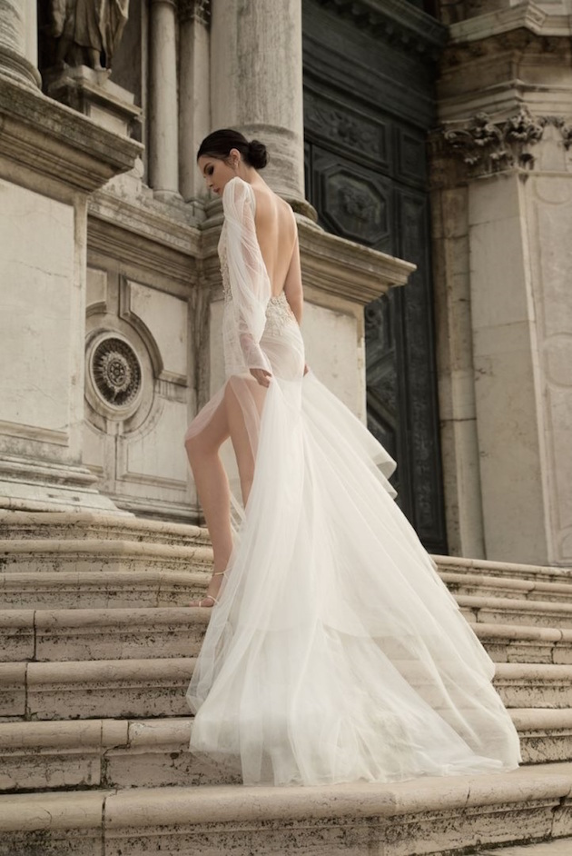 10 Go To Designers For Backless Wedding Dresses Weddbook