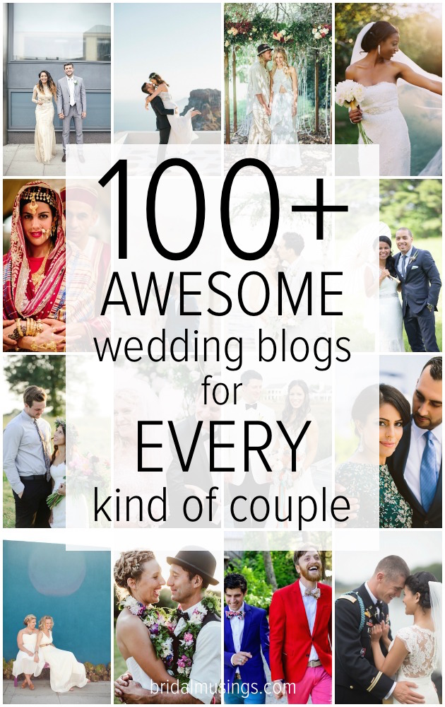 Awesome Wedding Blogs For Every Kind of Couple | Bridal Musings Wedding Blogs