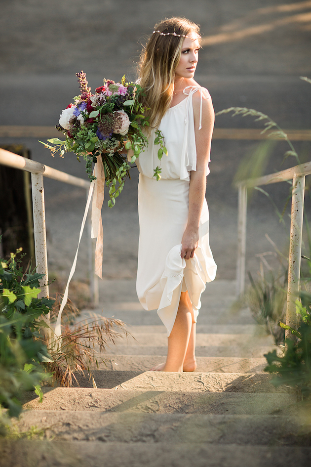 Eclectic Bohemian Beach Wedding Inspiration