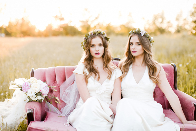 Dreamy Twin Bridal Session | Katie Nicolle Photography | Bridal Musings Wedding Blog 48
