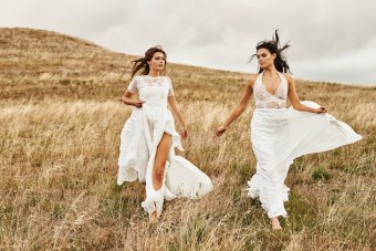 Untamed Romance; New Grace Loves Lace Wedding Dress Collection