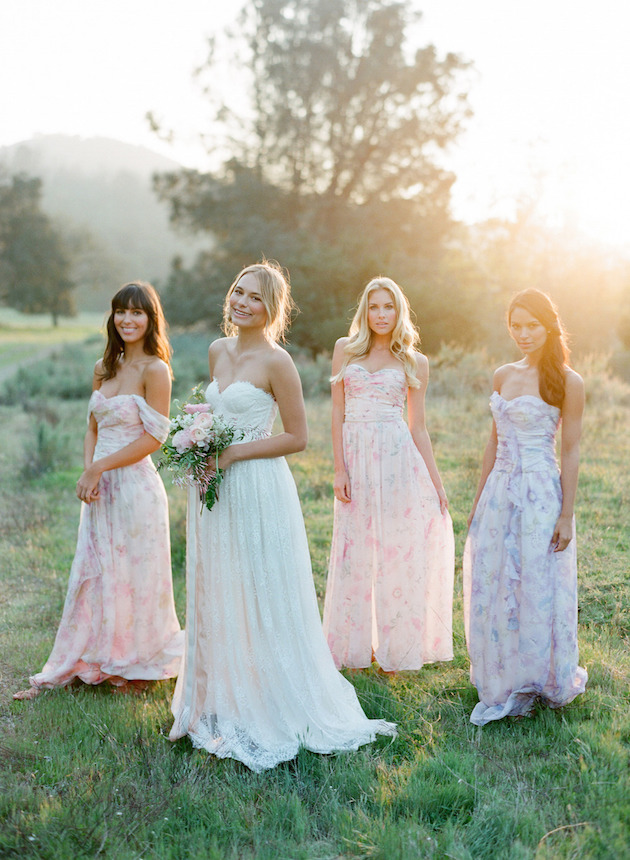 PPS Couture Bridesmaid Dresses | Jose Villa Photography | Bridal Musings Wedding Blog 1