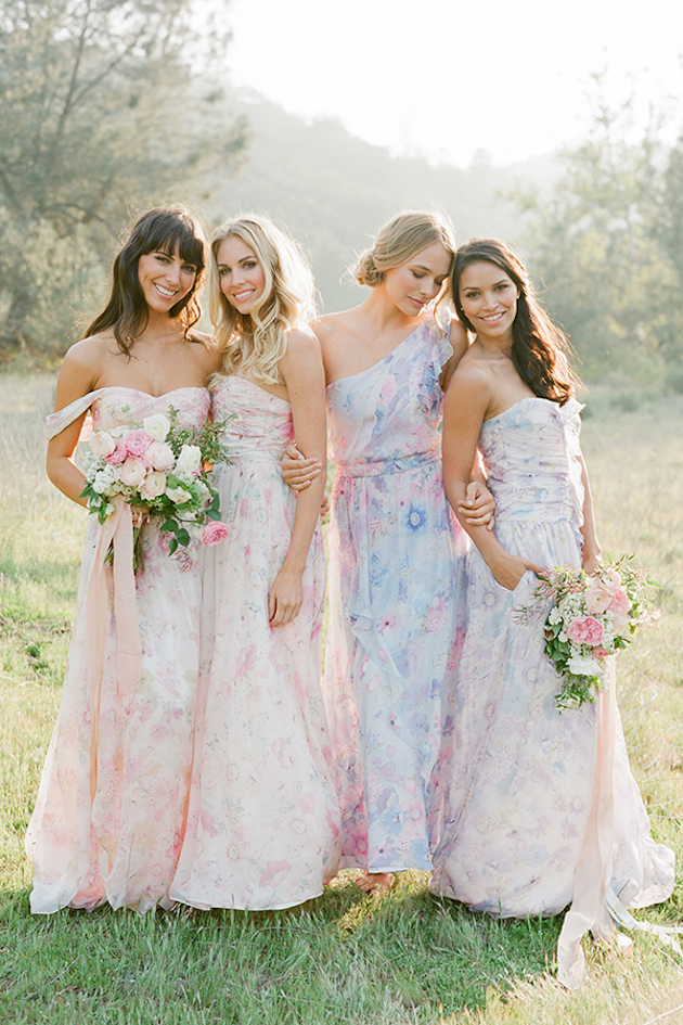 PPS Couture Bridesmaid Dresses | Jose Villa Photography | Bridal Musings Wedding Blog 2