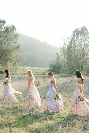PPS Couture Bridesmaid Dresses | Jose Villa Photography | Bridal Musings Wedding Blog 20