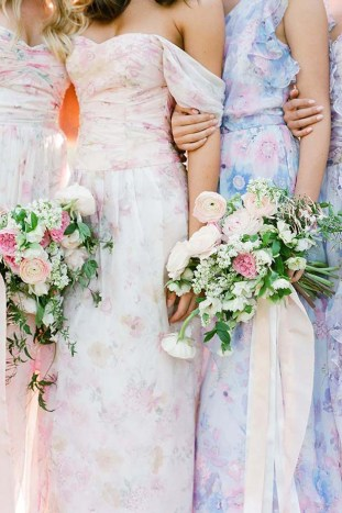 PPS Couture Bridesmaid Dresses | Jose Villa Photography | Bridal Musings Wedding Blog 24