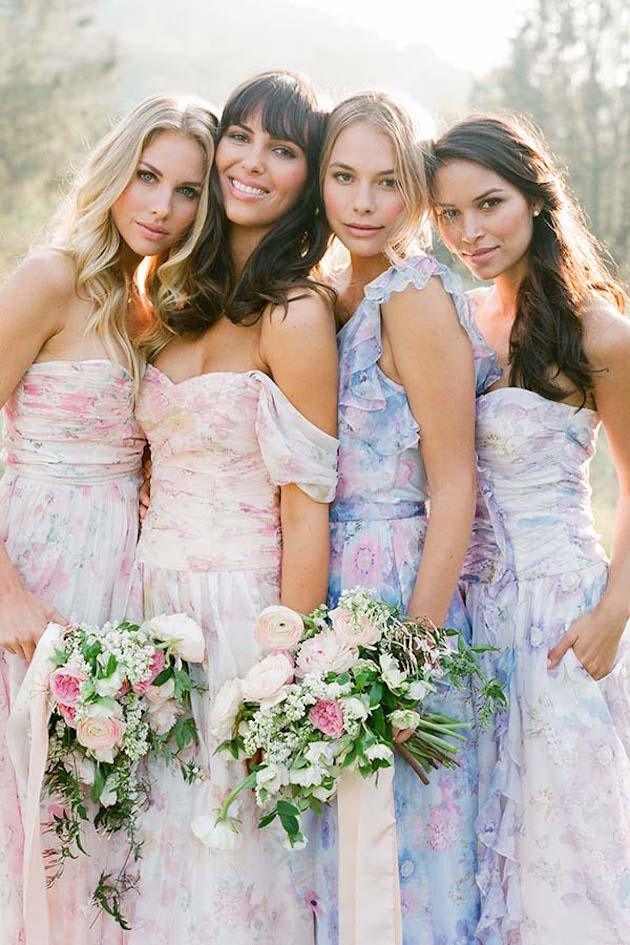 PPS Couture Bridesmaid Dresses | Jose Villa Photography | Bridal Musings Wedding Blog 26
