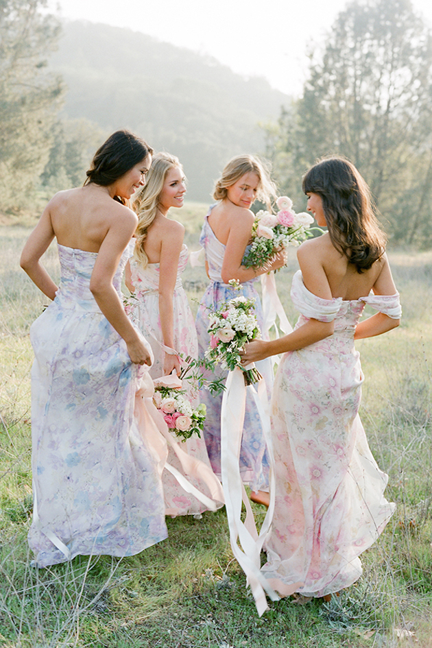 PPS Couture Bridesmaid Dresses | Jose Villa Photography | Bridal Musings Wedding Blog 4