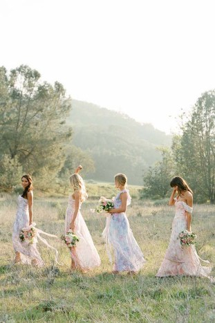 PPS Couture Bridesmaid Dresses | Jose Villa Photography | Bridal Musings Wedding Blog 5
