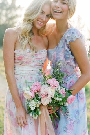 PPS Couture Bridesmaid Dresses | Jose Villa Photography | Bridal Musings Wedding Blog 50