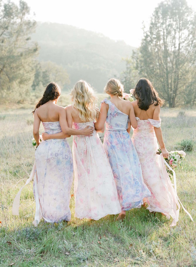 PPS Couture Bridesmaid Dresses | Jose Villa Photography | Bridal Musings Wedding Blog 6