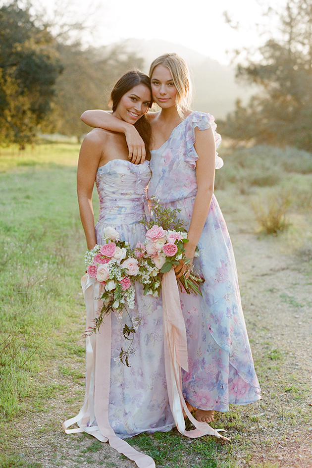 PPS Couture Bridesmaid Dresses | Jose Villa Photography | Bridal Musings Wedding Blog 8