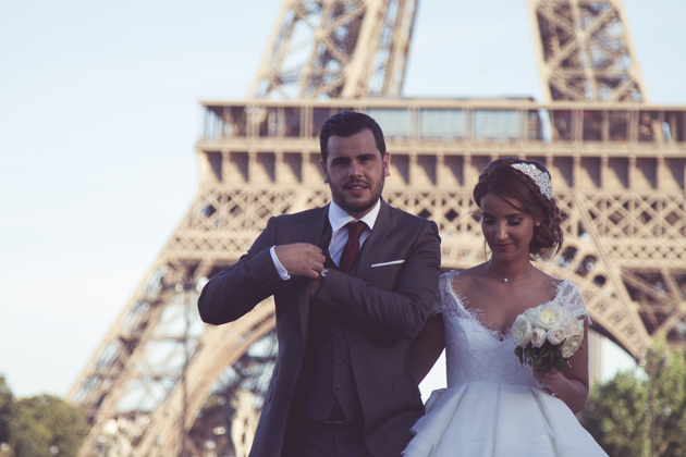 Romantic Civil Ceremony in Paris | Vincent Agnes Photography | Bridal Musings Wedding Blog 26