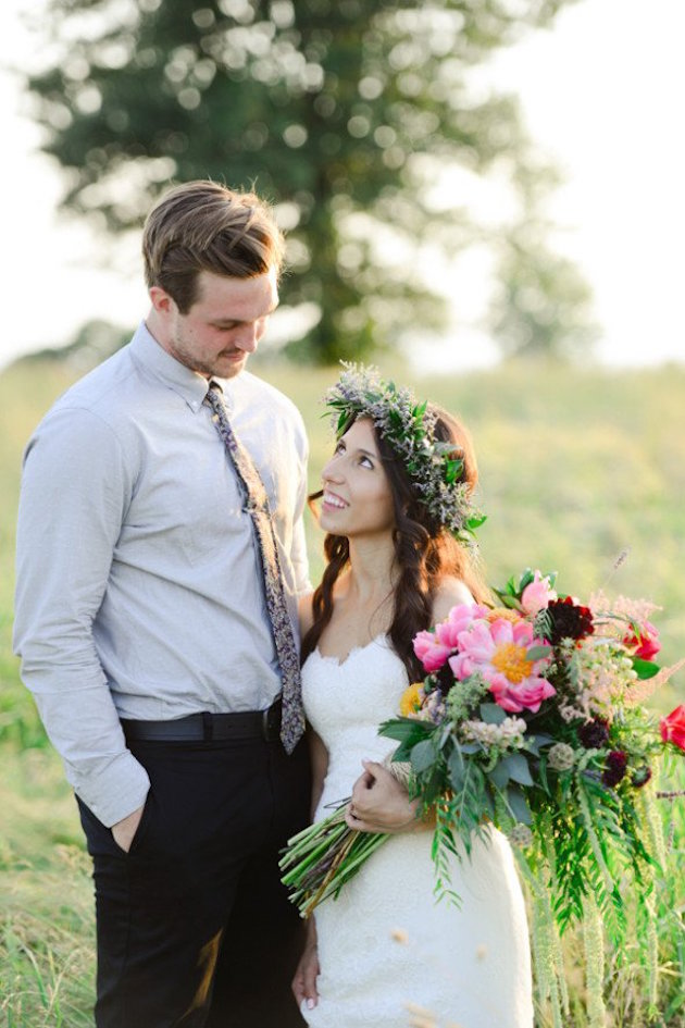 Rustic Wedding Inspiration | Bridal Musings Wedding Blog