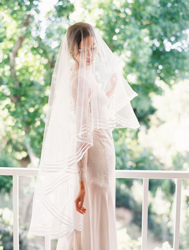 The Ultimate Guide to Bridal Veils: The Ballet Veil | Bridal Musings Wedding Blog