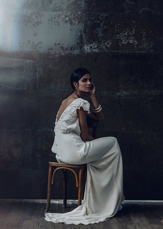 Christmas wedding dress designer - Wedding Dress Collection Laurent Nivalle Bridal Musings Wedding