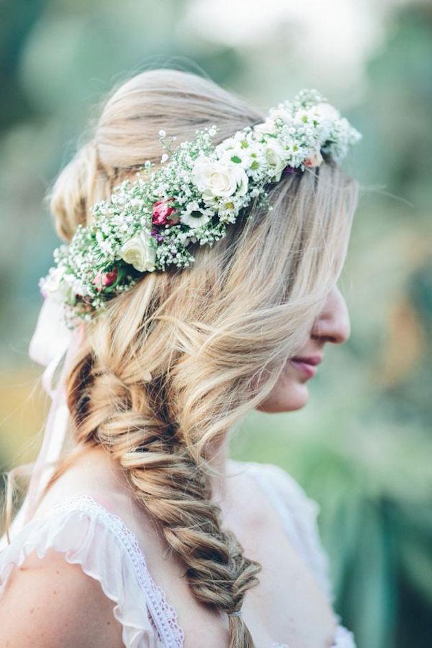 Wedding Hair Inspiration: 32 Fresh & Feminine Bridal Braids - Bridal Musings