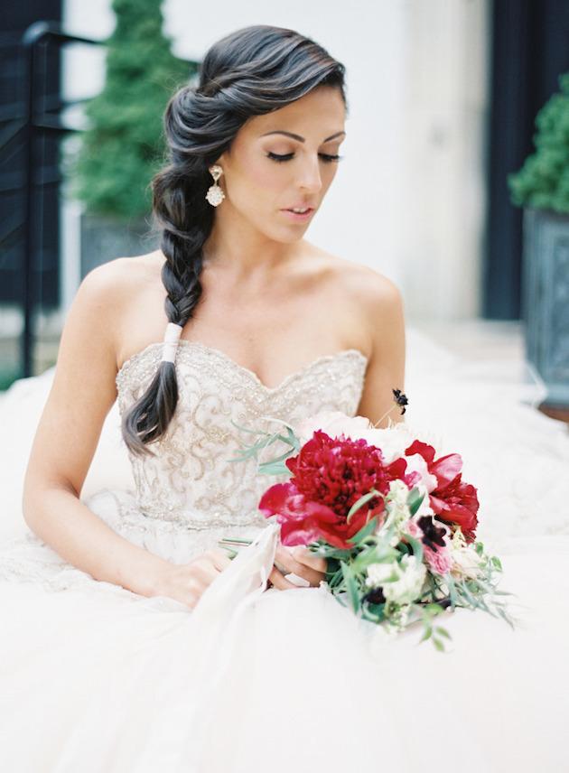Wedding Hair Inspiration: 32 Fresh & Feminine Bridal Braids | Pinkous