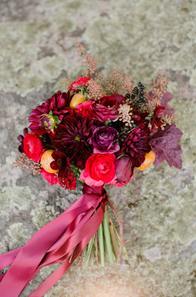 Fall Bouquet Recipes | Bridal Musings Wedding Blog