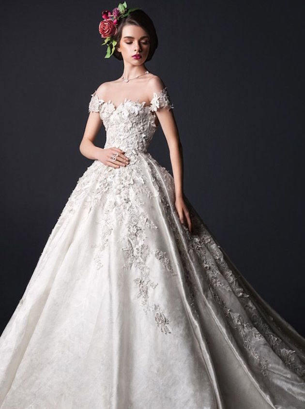 Wedding Dresses For Queens : Fit for a queen rami al ali wedding dress collection