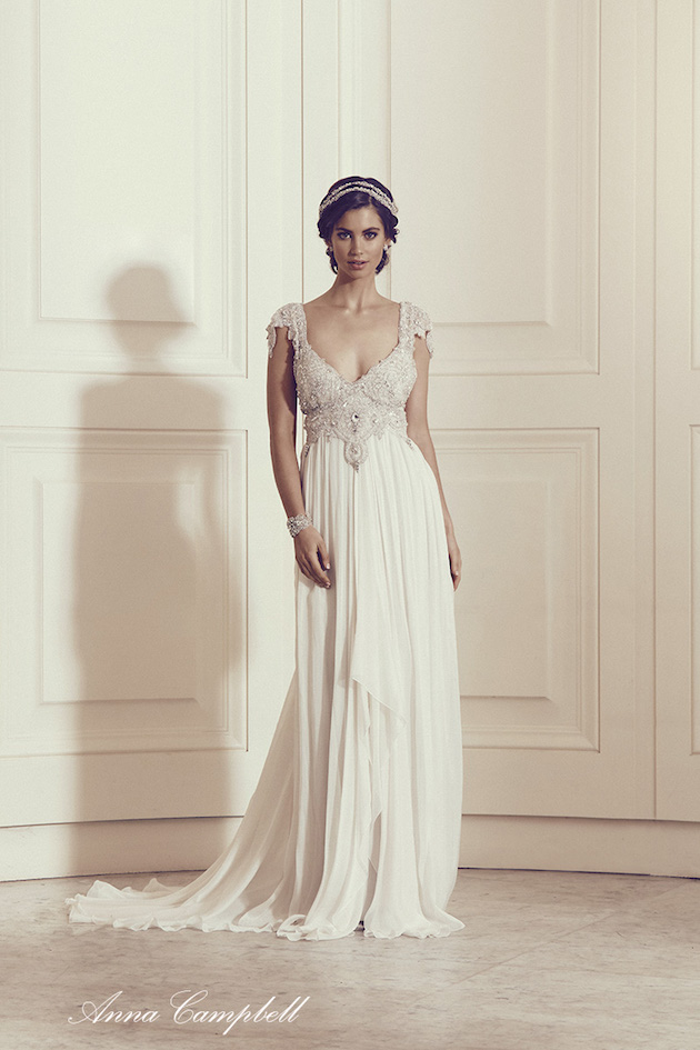 Anna Campbell Wedding Dress Collection | Bridal Musings Wedding Blog 11