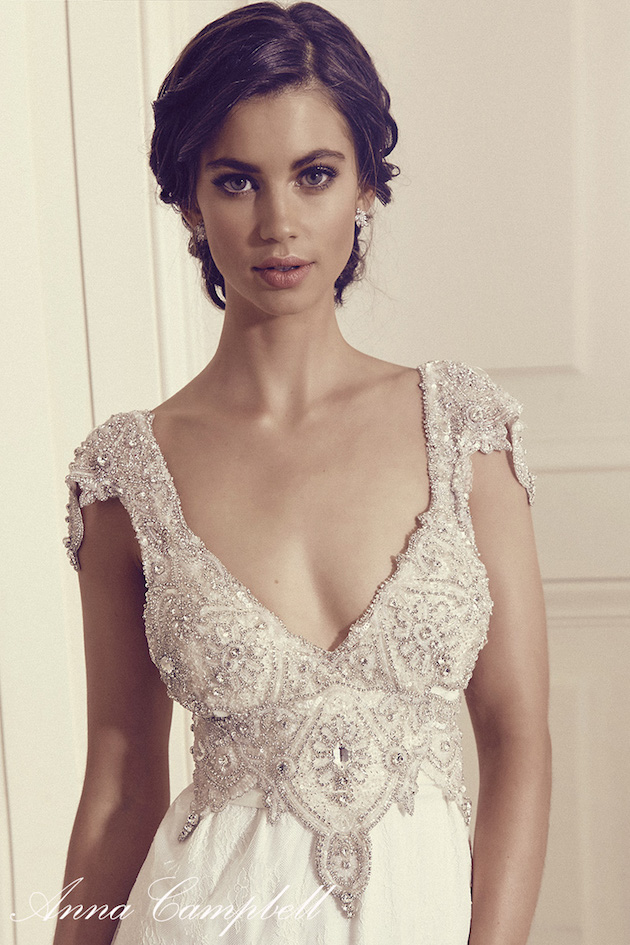 Anna Campbell Wedding Dress Collection | Bridal Musings Wedding Blog 12