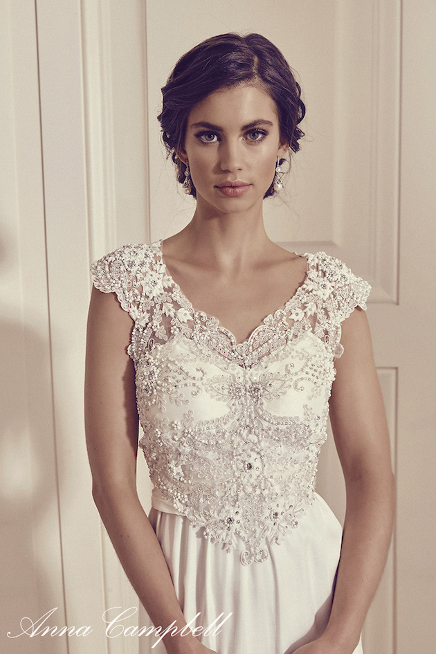 Anna Campbell Wedding Dress Collection | Bridal Musings Wedding Blog 23