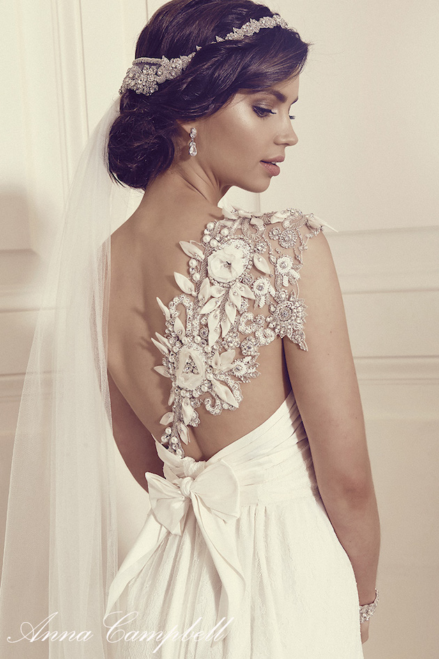 Anna Campbell Wedding Dress Collection | Bridal Musings Wedding Blog 31