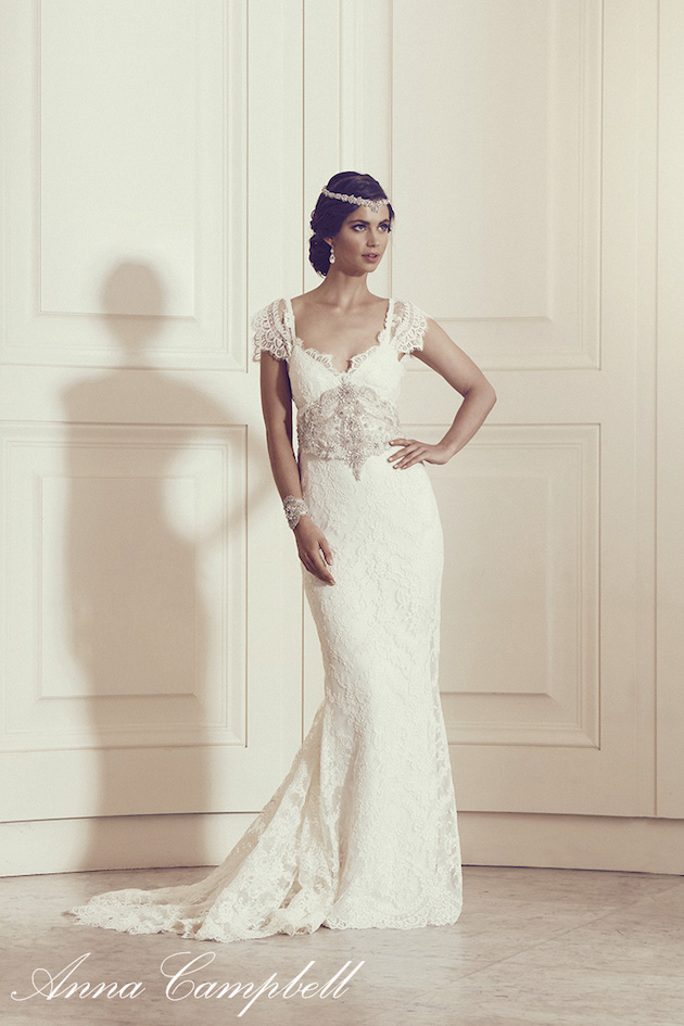 Anna Campbell Wedding Dress Collection | Bridal Musings Wedding Blog 33