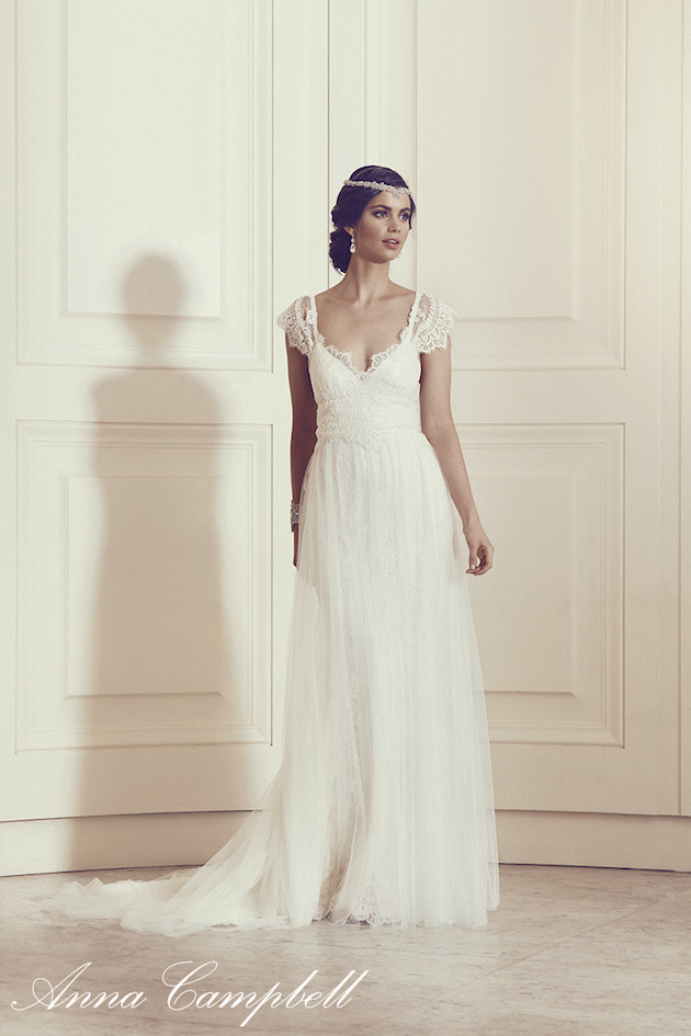 Anna Campbell Wedding Dress Collection | Bridal Musings Wedding Blog 36