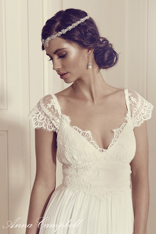 Anna Campbell Wedding Dress Collection | Bridal Musings Wedding Blog 37