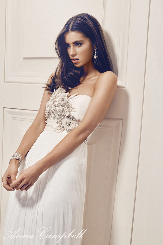 Anna Campbell Wedding Dress Collection | Bridal Musings Wedding Blog 5