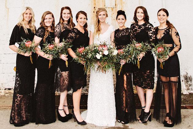 vestido madrinha de casamento preto