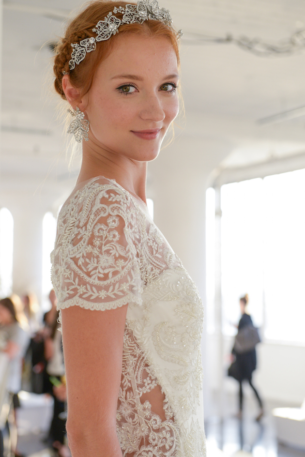 Marchesa Wedding Dress Collection | Backstage at Bridal Fashion Week | Bridal Musings Wedding Blog 67