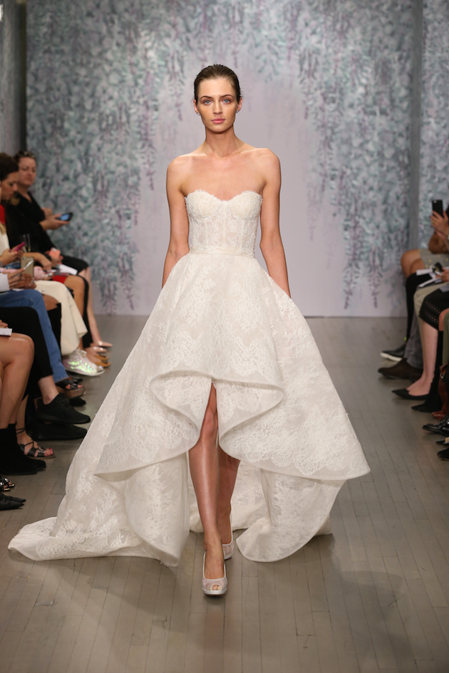 Best of bridal fashion week monique lhuillier wedding for Wedding dress boutiques in nyc