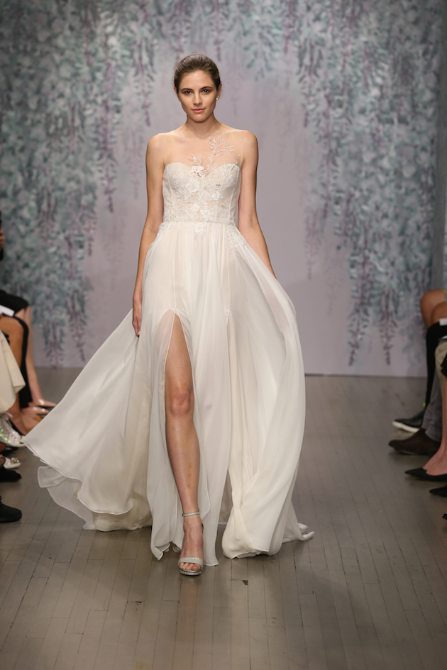 Wedding Dresses   Nyc : Lhuillier wedding dress collection nyc bridal fashion week
