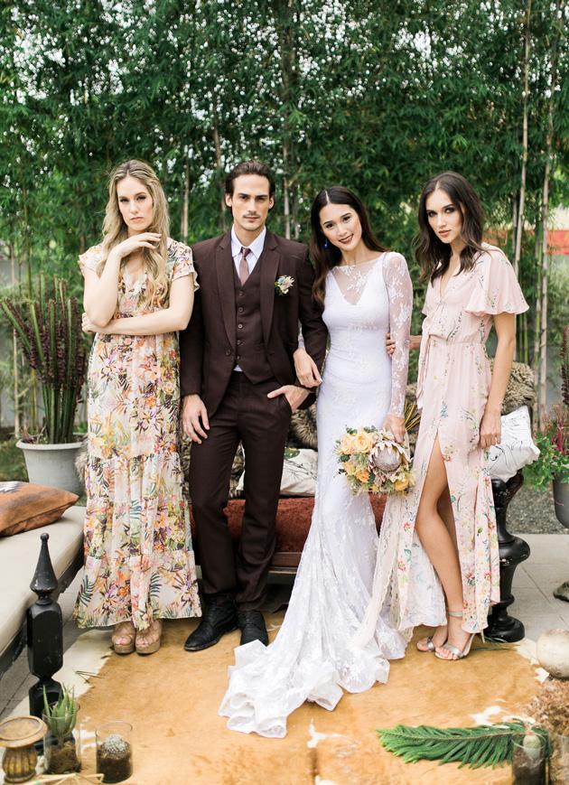 Cool, Colourful, Eclectic Wedding Inspiration - Weddbook
