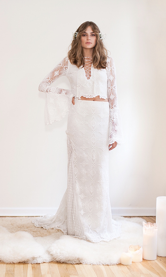 Daughters of Simone Wedding Dress | Bridal Musings Wedding Blog