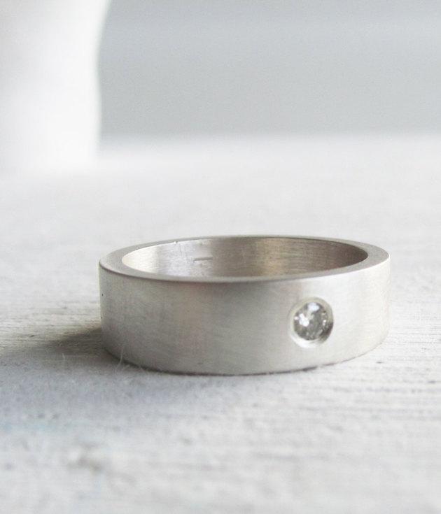 Engagement Rings for Men   Men's Engagement Ring   Bridal Musings Wedding Blog