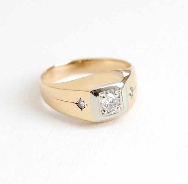 Engagement Rings for Men   Men's Engagement Ring   Bridal Musings Wedding Blog 6