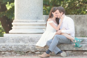 Super Chic, Utterly Romantic Engagement Shoot in Rome