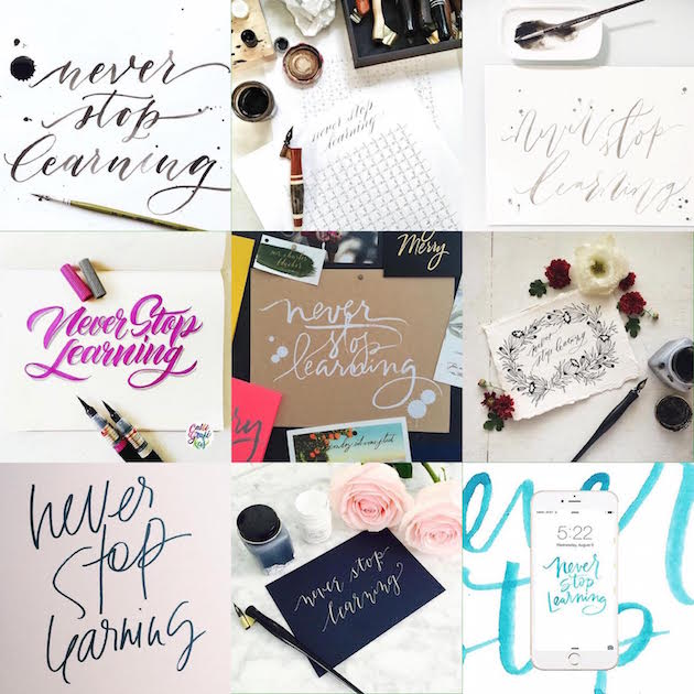 Learn how to be amazing at calligraphy plus get free
