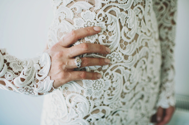 Wedding Dress Inspiration | Boho Wedding Dress | Bridal Musings Wedding Blog 13