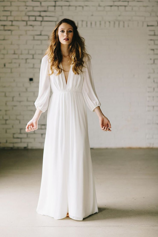 Wedding Dress Inspiration | Boho Wedding Dress | Bridal Musings Wedding Blog 7