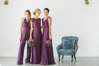 Ceremony by Joanna August; Gorgeous Jewel-Toned Bridesmaid Dresses