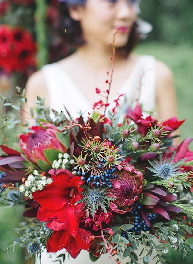 Winter Bouquet Ideas | Daisy Ellen Florals | Bridal Musings Wedding Blog 2