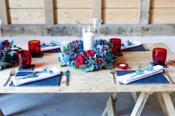 Cosy Winter Wedding Inspiration (In a Summer Venue)