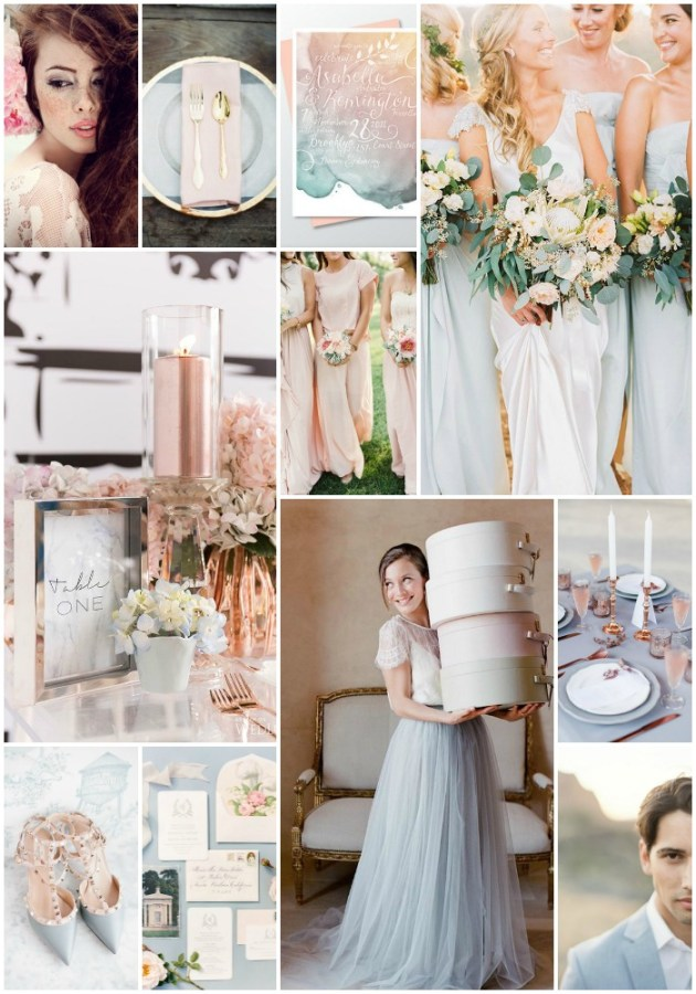 Rose Quartz & Serenity | Pantone Colours of the Year 2016 | Bridal Musings Wedding Blog